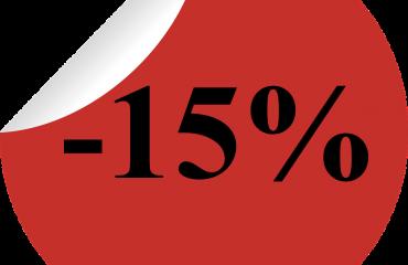 Отстъпка 15% за обикновен превод