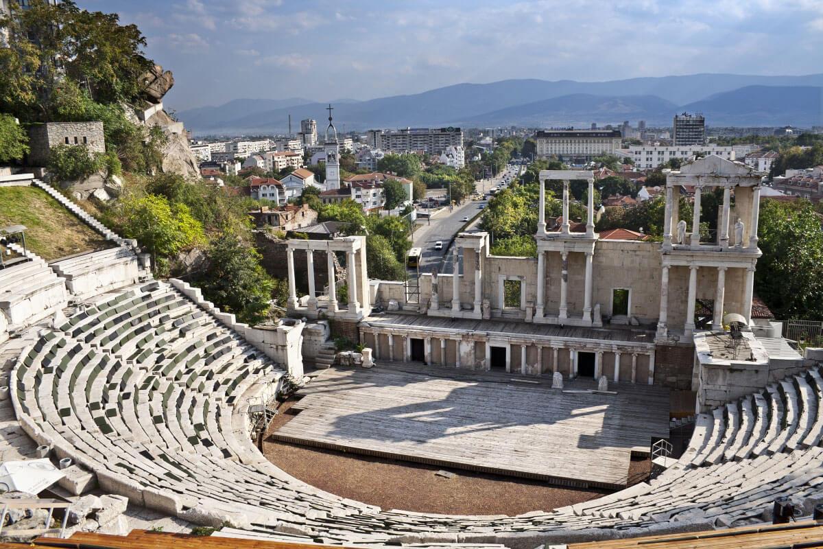 гр. Пловдив, Античен театър