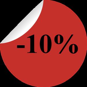 10% отстъпка с Талон за отстъпка