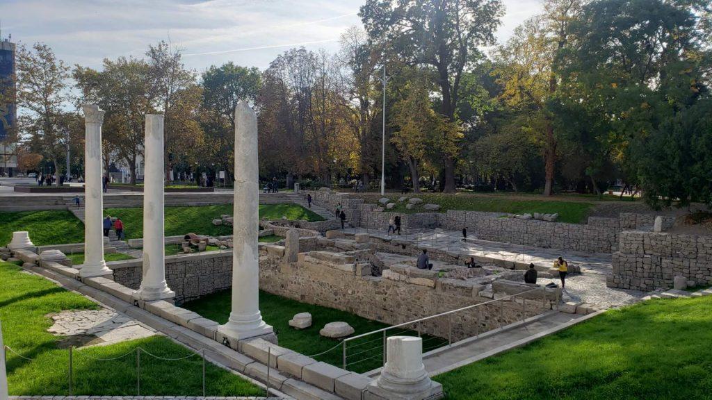 Античен форум на Филипопол, град Пловдив