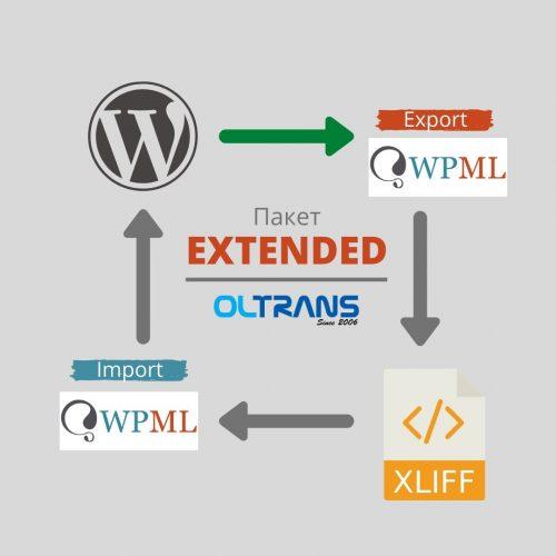 Превод на уеб сайт, изграден на WordPress, пакет EXTENDED.