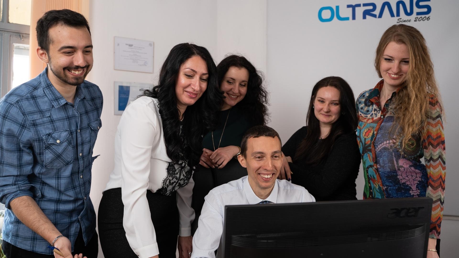 """Екип на агенция за езикови преводи """"Олтранс"""""""